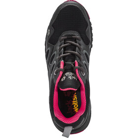 Jack Wolfskin Venture Fly Trail Running Shoes Texapore Low Damen red fire